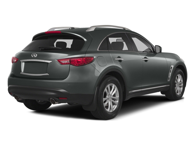 Graphite Shadow 2014 INFINITI QX70 Pictures QX70 Utility 4D 2WD V6 photos rear view