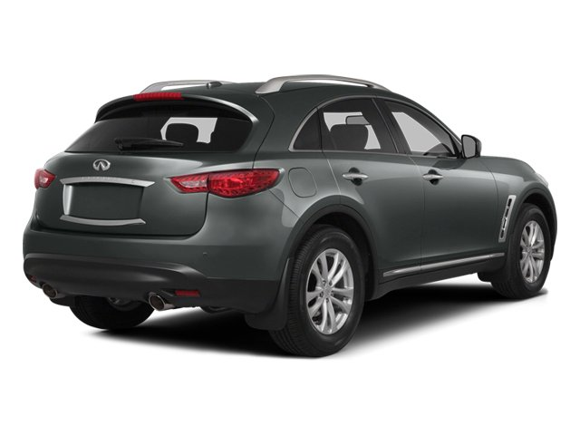 Graphite Shadow 2014 INFINITI QX70 Pictures QX70 Utility 4D AWD V6 photos rear view