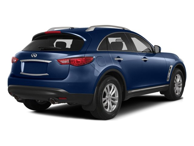 Iridium Blue 2014 INFINITI QX70 Pictures QX70 Utility 4D AWD V8 photos rear view