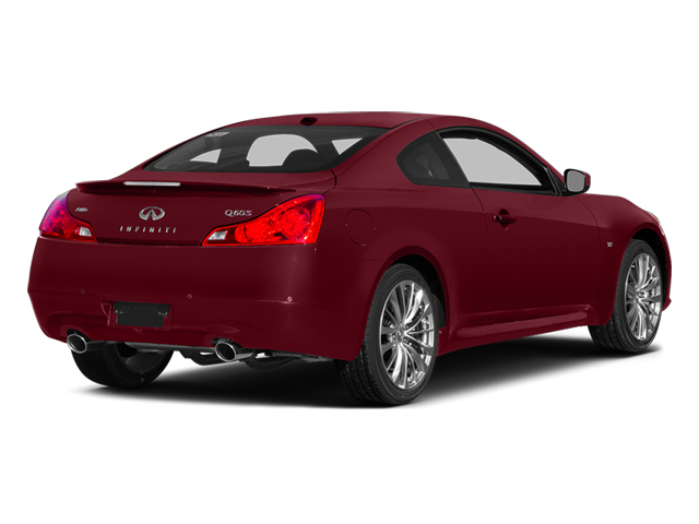 Venetian Ruby 2014 INFINITI Q60 Coupe Pictures Q60 Coupe 2D AWD V6 photos rear view