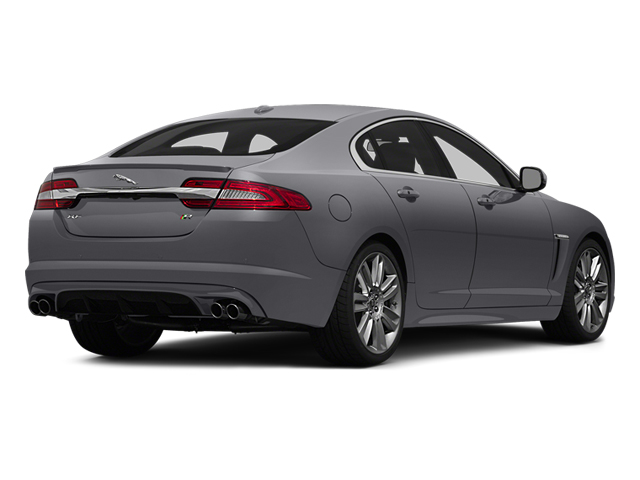 Lunar Gray Metallic 2014 Jaguar XF Pictures XF Sedan 4D XFR V8 Supercharged photos rear view