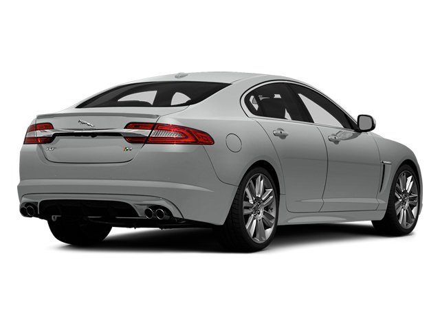 Rhodium Silver Metallic 2014 Jaguar XF Pictures XF Sedan 4D XFR V8 Supercharged photos rear view