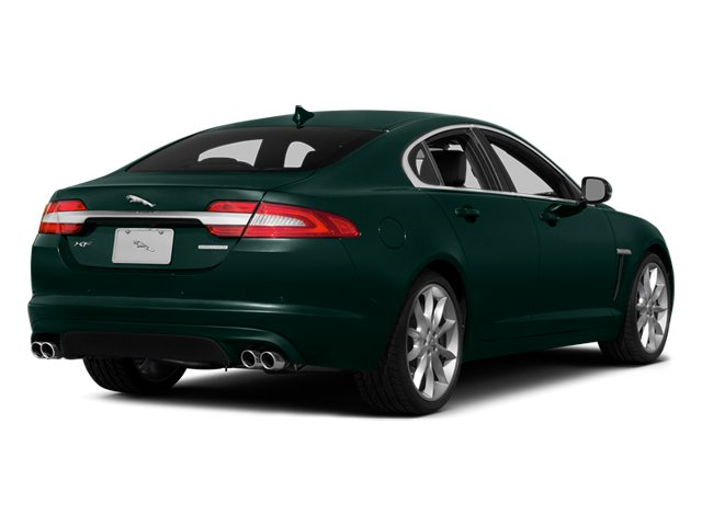 British Racing Green 2014 Jaguar XF Pictures XF Sedan 4D V6 Supercharged photos rear view
