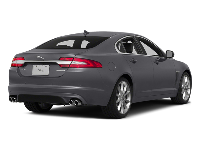 Lunar Gray Metallic 2014 Jaguar XF Pictures XF Sedan 4D V6 Supercharged photos rear view