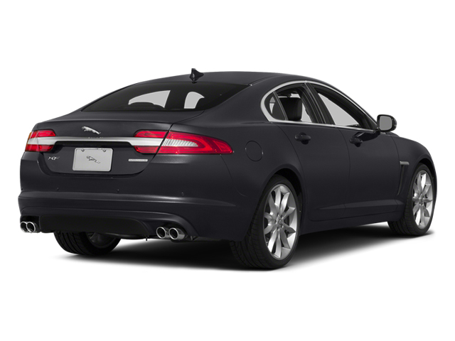 Stratus Gray Metallic 2014 Jaguar XF Pictures XF Sedan 4D V6 Supercharged photos rear view