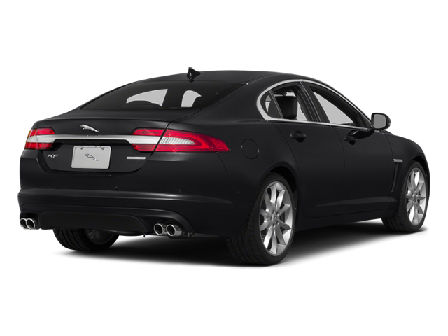 Ebony 2014 Jaguar XF Pictures XF Sedan 4D V6 Supercharged photos rear view