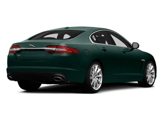 British Racing Green 2014 Jaguar XF Pictures XF Sedan 4D V8 Supercharged photos rear view