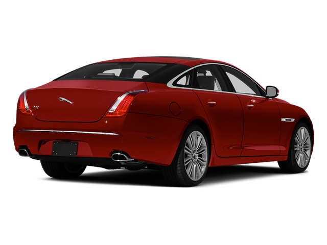 Italian Racing Red 2014 Jaguar XJ Pictures XJ Sedan 4D L XJR V8 Supercharged photos rear view