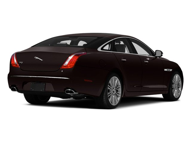 Caviar Metallic 2014 Jaguar XJ Pictures XJ Sedan 4D L XJR V8 Supercharged photos rear view