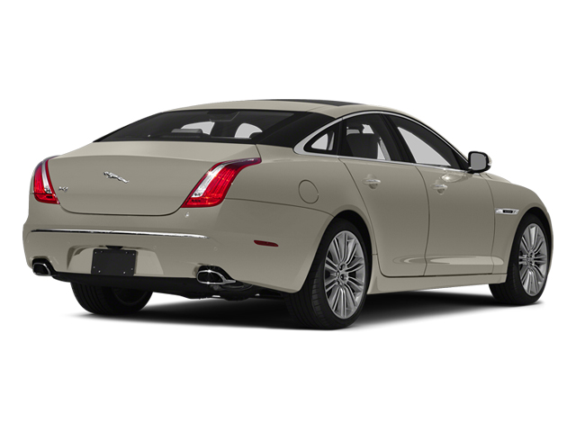 Cashmere Metallic 2014 Jaguar XJ Pictures XJ Sedan 4D L XJR V8 Supercharged photos rear view