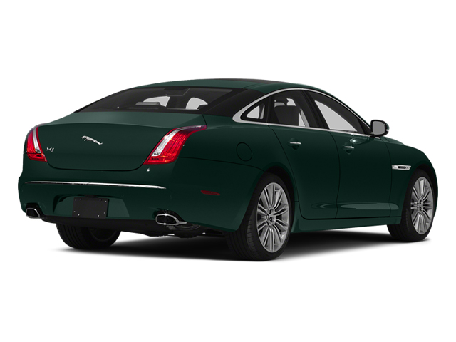 British Racing Green 2014 Jaguar XJ Pictures XJ Sedan 4D L XJR V8 Supercharged photos rear view