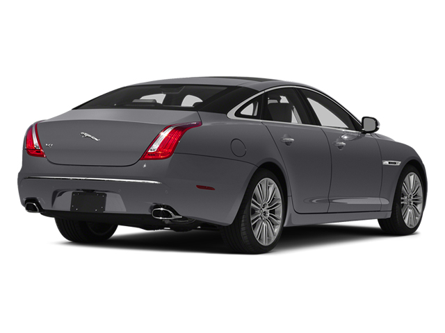 Lunar Grey Metallic 2014 Jaguar XJ Pictures XJ Sedan 4D L XJR V8 Supercharged photos rear view