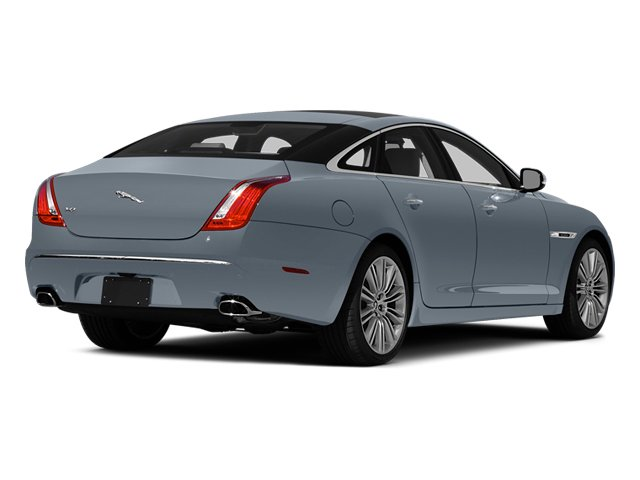 Satellite Grey Metallic 2014 Jaguar XJ Pictures XJ Sedan 4D L XJR V8 Supercharged photos rear view