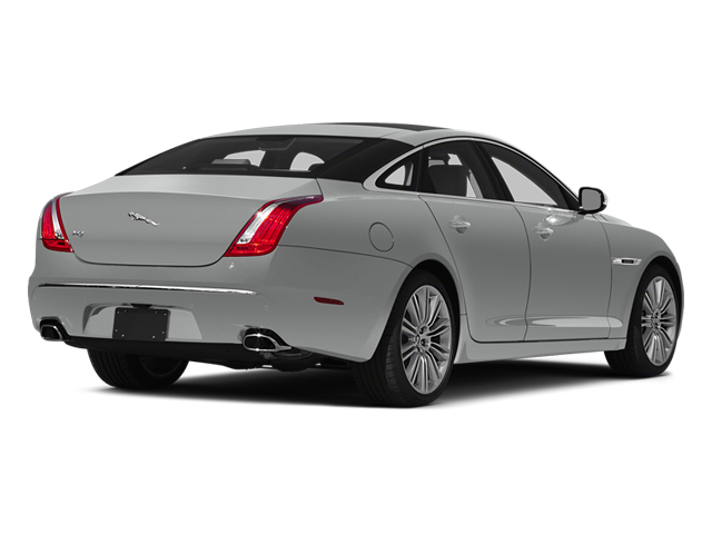 Rhodium Silver Metallic 2014 Jaguar XJ Pictures XJ Sedan 4D L XJR V8 Supercharged photos rear view