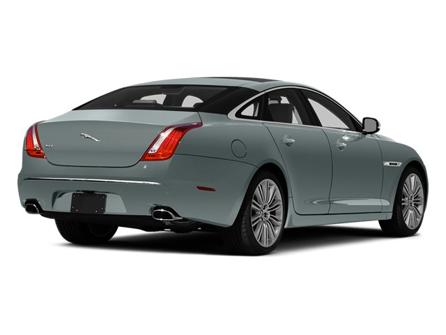 Osmium Blue Metallic 2014 Jaguar XJ Pictures XJ Sedan 4D L XJR V8 Supercharged photos rear view