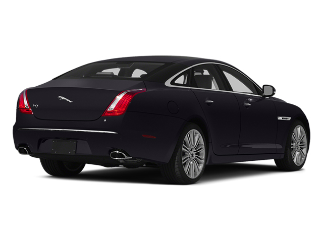 Ultimate Black Metallic 2014 Jaguar XJ Pictures XJ Sedan 4D L XJR V8 Supercharged photos rear view