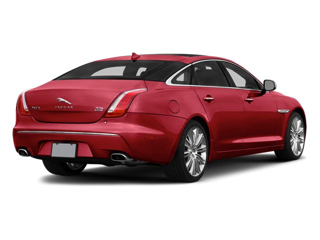 Carnelian Red Metallic 2014 Jaguar XJ Pictures XJ Sedan 4D L Portolio V6 photos rear view