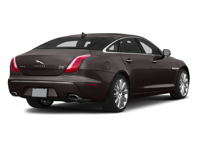 Caviar Metallic 2014 Jaguar XJ Pictures XJ Sedan 4D L Portolio V6 photos rear view