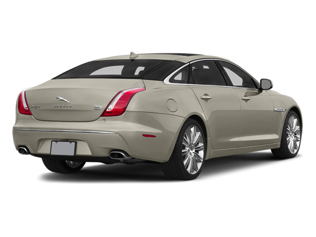 Cashmere Metallic 2014 Jaguar XJ Pictures XJ Sedan 4D L Portolio V6 photos rear view