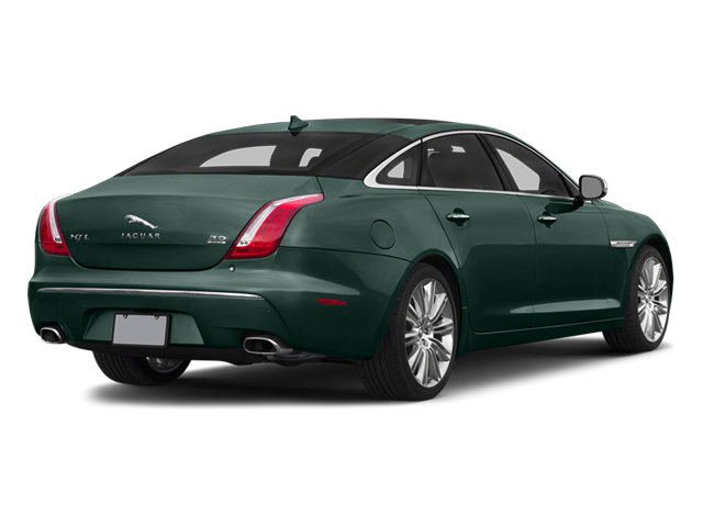 British Racing Green 2014 Jaguar XJ Pictures XJ Sedan 4D L Portolio V6 photos rear view