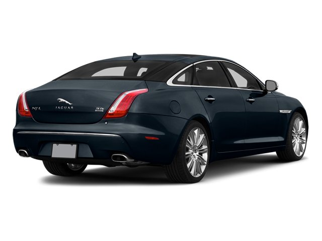 Dark Sapphire Metallic 2014 Jaguar XJ Pictures XJ Sedan 4D L Portolio V6 photos rear view