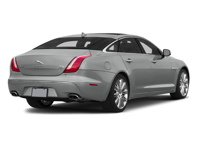 Rhodium Silver Metallic 2014 Jaguar XJ Pictures XJ Sedan 4D L Portolio V6 photos rear view