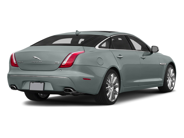Osmium Blue Metallic 2014 Jaguar XJ Pictures XJ Sedan 4D L Portolio V6 photos rear view