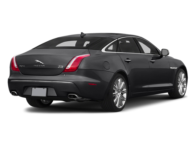 Ebony 2014 Jaguar XJ Pictures XJ Sedan 4D L Portolio V6 photos rear view