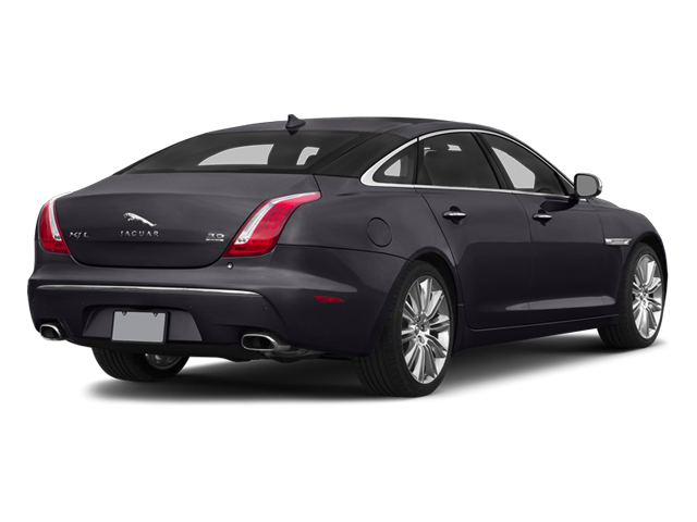 Ultimate Black Metallic 2014 Jaguar XJ Pictures XJ Sedan 4D L Portolio V6 photos rear view