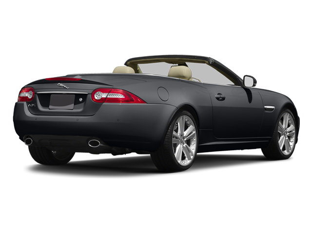 Stratus Gray Metallic 2014 Jaguar XK Pictures XK Convertible 2D V8 photos rear view