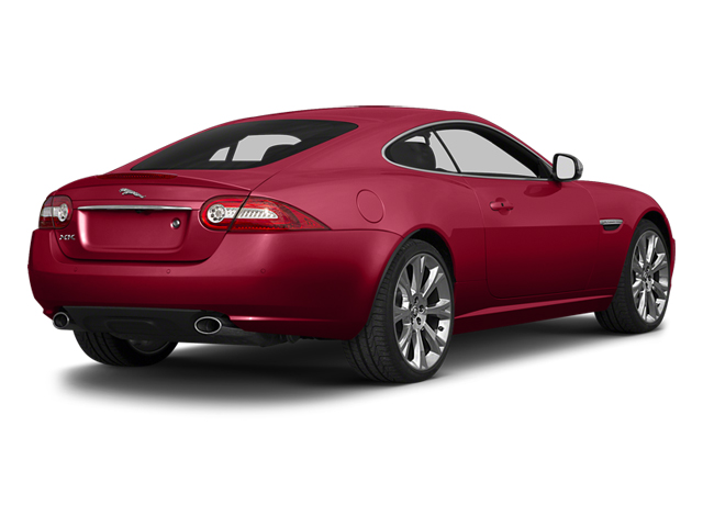 Carnelian Red Metallic 2014 Jaguar XK Pictures XK Coupe 2D V8 photos rear view