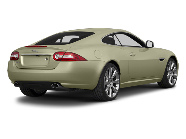 Cashmere Metallic 2014 Jaguar XK Pictures XK Coupe 2D V8 photos rear view