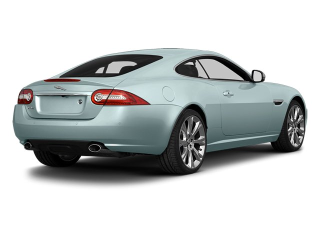 Crystal Blue Metallic 2014 Jaguar XK Pictures XK Coupe 2D V8 photos rear view