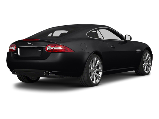 Ebony 2014 Jaguar XK Pictures XK Coupe 2D V8 photos rear view