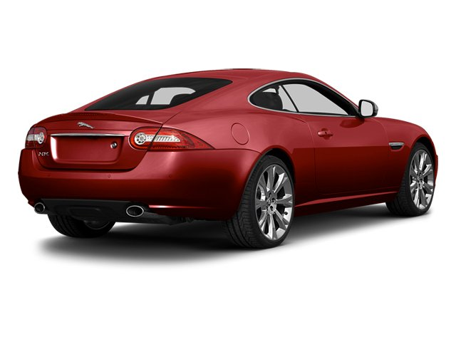 Italian Racing Red 2014 Jaguar XK Pictures XK Coupe 2D V8 photos rear view