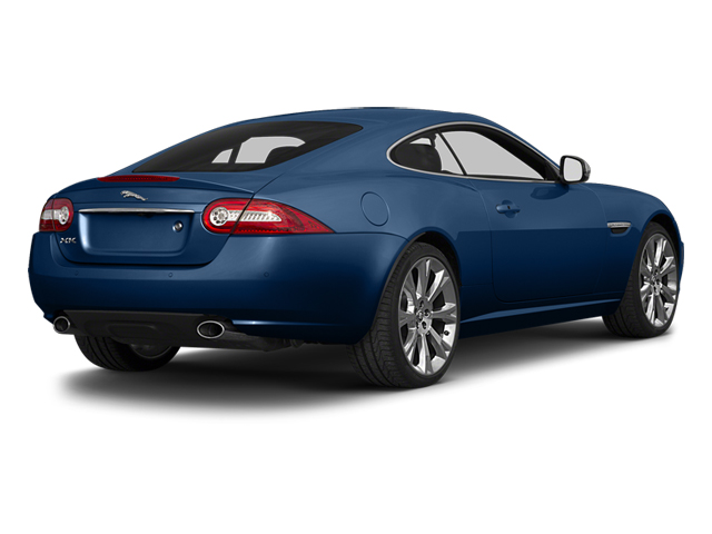 Osmium Blue Metallic 2014 Jaguar XK Pictures XK Coupe 2D V8 photos rear view