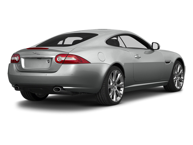 Rhodium Silver Metallic 2014 Jaguar XK Pictures XK Coupe 2D V8 photos rear view