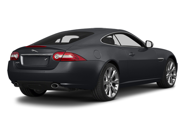 Stratus Gray Metallic 2014 Jaguar XK Pictures XK Coupe 2D V8 photos rear view