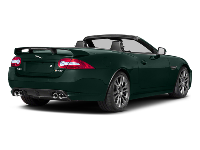 British Racing Green 2014 Jaguar XK Pictures XK Convertible 2D XKR-S V8 Supercharged photos rear view