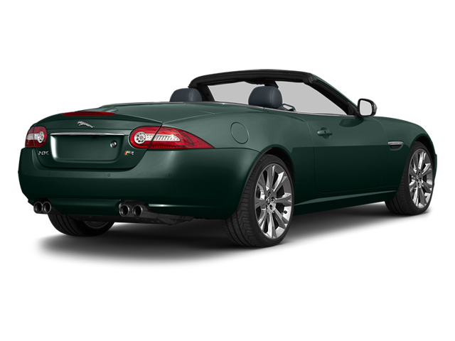 British Racing Green 2014 Jaguar XK Pictures XK Convertible 2D XKR V8 Supercharged photos rear view