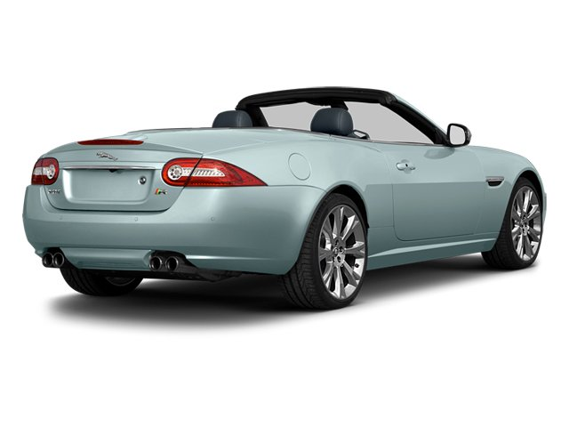 Crystal Blue Metallic 2014 Jaguar XK Pictures XK Convertible 2D XKR V8 Supercharged photos rear view