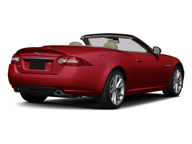 Carnelian Red Metallic 2014 Jaguar XK Pictures XK Convertible 2D Touring V8 photos rear view