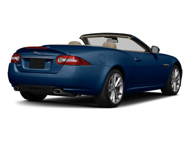 Indigo Blue Metallic 2014 Jaguar XK Pictures XK Convertible 2D Touring V8 photos rear view