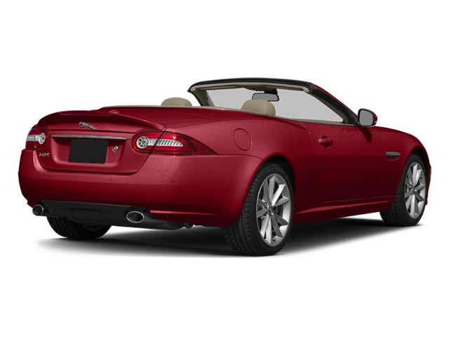 Italian Racing Red 2014 Jaguar XK Pictures XK Convertible 2D Touring V8 photos rear view