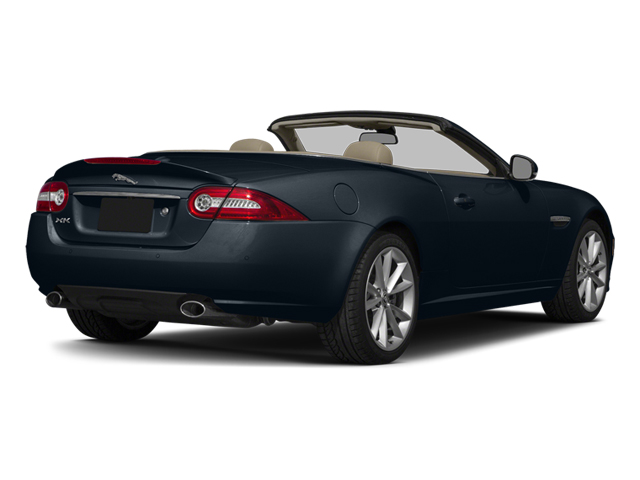 Dark Sapphire Metallic 2014 Jaguar XK Pictures XK Convertible 2D Touring V8 photos rear view