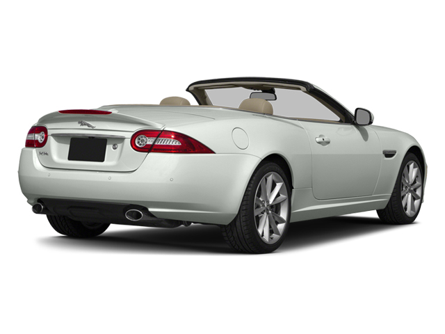 Polaris White 2014 Jaguar XK Pictures XK Convertible 2D Touring V8 photos rear view