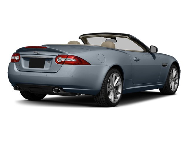 Satellite Gray Metallic 2014 Jaguar XK Pictures XK Convertible 2D Touring V8 photos rear view