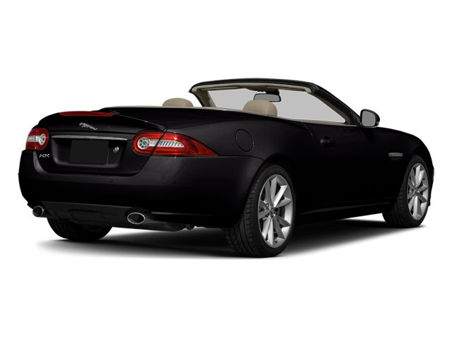 Ultimate Black Metallic 2014 Jaguar XK Pictures XK Convertible 2D Touring V8 photos rear view