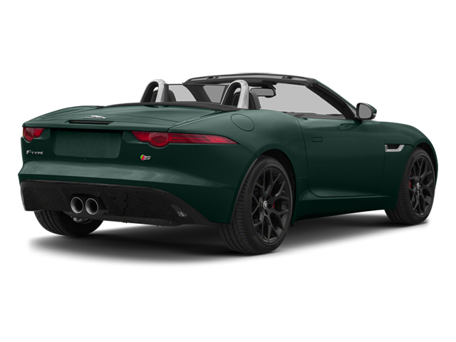 British Racing Green 2014 Jaguar F-TYPE Pictures F-TYPE Convertible 2D S V6 photos rear view