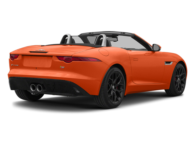 Firesand Metallic 2014 Jaguar F-TYPE Pictures F-TYPE Convertible 2D S V6 photos rear view